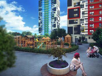 Детская игровая площадка, зоны отдыха